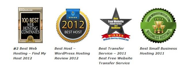 hostgator hosting awards