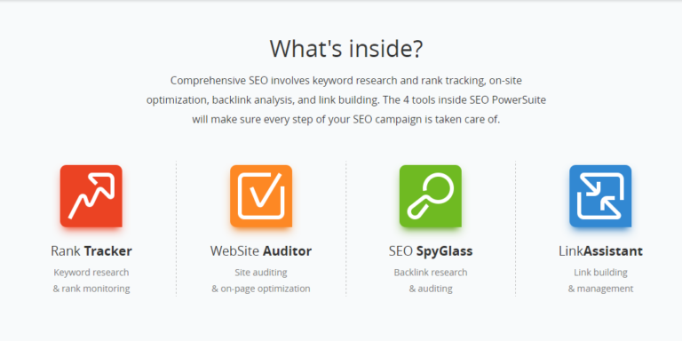 SEO PowerSuite Package Review